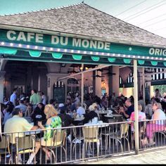 Loved the beignets and coffee.