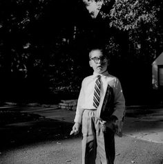 Vivian Maier - Wilmette, Illinois, Boy With Glasses, circa 1967-1968