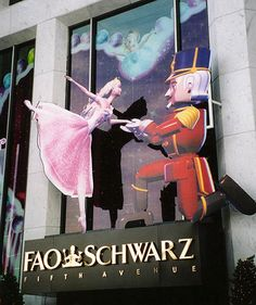 FAO Schwarz: the BEST Toy Store!!! Every year, as a kid, we went there at Christmas time...I got to pick out my favorite Steiff animal, and I still have the collection to this day!