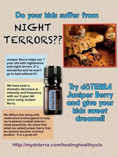 Night Terrors...EOs for children and veterans!