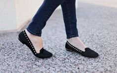 Studded smoking slippers. I don't like slippers but these are amazeballs!