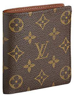 731c752d5af Louis Vuitton Monogram Canvas Billfold With 10 Credit Card Slots