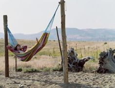 How to Install a Hammock Post