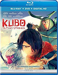 Amazon.com: Kubo and the Two Strings (Blu-ray + DVD + Digital HD): Charlize Theron, Art Parkinson, Ralph Fiennes, George Takei, Cary-Hiroyuki Tagawa, Travis Knight: Movies & TV