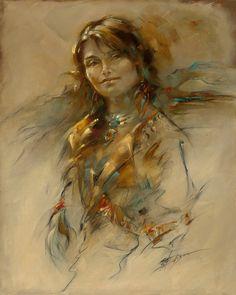 Native Sunset - Susan Edison
