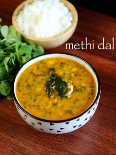 methi dal recipe, methi dal fry, how to make dal methi fry with step by step photo/video. healthy, tasty protein dal recipe with fenugreek leaves & toor dal Methi Recipes, Curry Recipes, Vegetarian Recipes, Cooking Recipes, Ayurvedic Recipes, Vegetarian Salad, Beans Recipes, Lentil Recipes, Cooking Tips