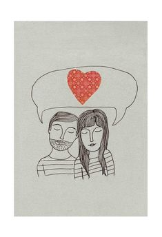 No words neededPrint by sparklehen on Etsy, $12.00 #valentinesday