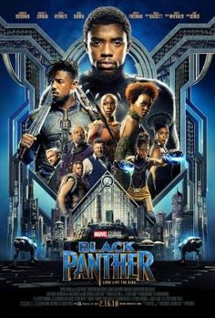 Black Panther. DIR. Ryan Coogler (2018) ⭐⭐⭐