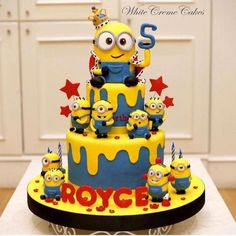 The party project despicable me cake ideas