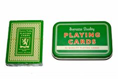 Vintage Playing Cards - Come rain or shine, inside or out what trip would be complete without the ultimate entertainment - a pack of cards! http://www.tinderandtide.co.uk/product.php?cid=47&pid=294