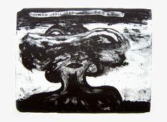 David Lynch - Woman obscured by cloud