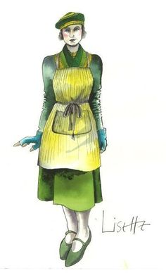 Hugo Emily Mortimer as Lisette Costume concept by Sandy Powell Ballet Costumes, Movie Costumes, Cool Costumes, Amazing Costumes, Marching Band Shows, Sandy Powell, Emily Mortimer, Costume Design Sketch, Art Costume
