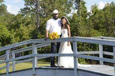 Rustic sunflower wedding