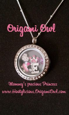 Mommy's little Princess she will always be.  www.Hootylicious.OrigamiOwl.com