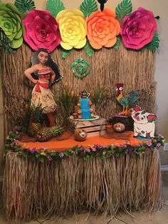 Moana Birthday Party Ideas Photo 1 of 9 Moana Birthday Decorations, Moana Birthday Party Theme, Luau Theme Party, Moana Themed Party, Theme Parties, Hawaiian Birthday, Luau Birthday, 4th Birthday Parties, Birthday Ideas