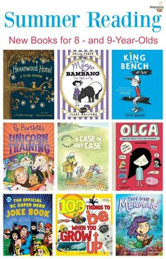 Summer Reading: New Books for 8- to 9- Year Olds
