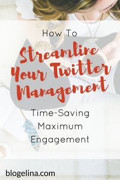 Are you a blogger or infopreneur who wants to grow your Twitter following, and encourage maximum engagement? This post takes you step-by-step through managing your Twitter and encouraging that engagement. Click through to read the entire post! Affiliate Marketing, Email Marketing, Business Marketing, Social Media Marketing, Content Marketing, Online Business, Business Tips, Marketing Strategies, Blog Planning