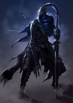armor artist request artorias the abysswalker cape dark souls full armor full body helmet highres knight plate armor solo souls (from software) sword weapon yinwoeren - Image View - Dark Souls 3, Arte Dark Souls, Demon's Souls, Fantasy Armor, Dark Fantasy Art, Medieval Fantasy, Dark Art, Character Portraits, Character Art
