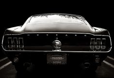 1967 Mustang Fastback. :)
