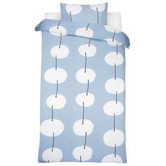 Twisti duvet cover and pillow case by Marimekko