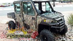 New 2016 Polaris RANGER Crew XP 900-6 EPS Polaris Pursuit ATVs For Sale in Nevada. 2016 Polaris RANGER Crew XP 900-6 EPS Polaris Pursuit Camo, Looking to get you and your family out in the wilderness for hunting and exploring? Look no further than our Ranger 900 XP Hunter edition. Set up to give you protection from the elements year round and take you anywhere from sandy beaches to rocky mountain tops! Parts included in this amazing offer, Don't miss out on these savings! Parts included with…