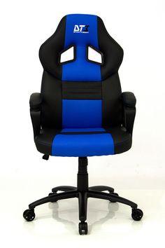 Cadeira Gamer DT3 Sports GTS Series Blue 10169-8    http://mundialcadeiras.com.br/cadeira-gamer-dt3-sports-gts-blue