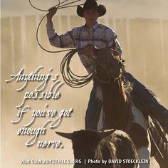 Cowboys, Cowgirls, Nerve, www.cowboyethics.org