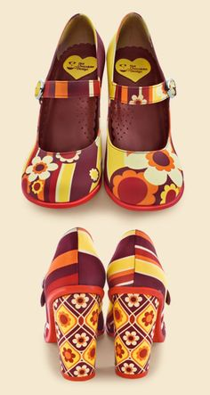 "OMG!  Why am I just now discovering these shoes???  I LOVE HOT CHOCOLATE!!!Chocolaticas Doble Topping ""1970"""