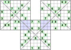 Number Logic Puzzles: 22141 - Sudoku size 9
