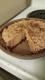 CJ Eats Keto: Chocolate Pie