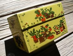 Vintage Yellow Recipe File  1970's by TheOddOldTriednTrue on Etsy