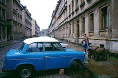 Trabi in East Berlin