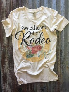 Sweetheart Of The Rodeo Alternative Short Sleeve Tee