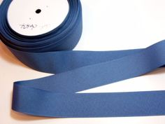 Blue Ribbon, Dark Delft Blue Grosgrain Ribbon 1 1/2 inches wide x 10 yards #Offray