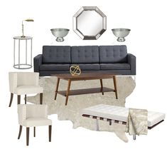 It's no wonder this chic living room from The Design Co, was your favorite this week on the CCC Facebookpage. Its soothing, neutral palette of wintry gray, silver, and cream makes for quite a serene space. Deciding whether to curl up in a club chair by the fire or stretch out on the cool, contemporary …