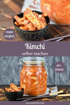KIMCHI SELBER MACHEN - EIN TRADITIONELLES REZEPTKimchi ist Sauerkraut auf koreanisch. Sauer, scharf und umami, so schmeckt Kimchi. Mit diesem traditionellen Rezept kannst du dein Kimchi einfach selber machen. Durch die Fermentation bekommst du ein gesundes und probiotisches Sauerkraut mit einem ganz eigenen Aroma. Es ist auch vegan möglich. #KimchiRezept #koreanischeRezepte #fermentierenRezepte veganeRezepte #glutenfreieRezepte #FermentationRezepte #gesundeRezepte #probiotischeRezepte