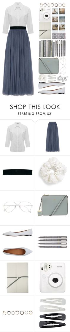 """Geen titel #539"" by lisannes1 ❤ liked on Polyvore featuring M&Co, Needle & Thread, Oasis, Topshop, Cutler and Gross, DKNY, Marc by Marc Jacobs, Polaroid, Fuji and Iosselliani"