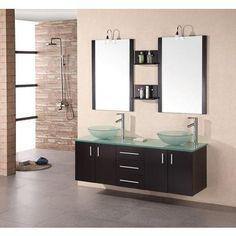 Design Element - Armoire à Linge Style Modena de 61 po (Robinet non inclus) - DEC005 - Home Depot Canada
