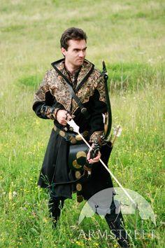 "Exclusive Fantasy Medieval Style Overcoat Garb ""Elven Prince"". $197.00, via Etsy."