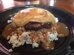 Hawaiian-Style Loco Moco. Such a delicious plate lunch!