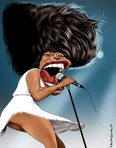 #caricature #henrique #tinaturner