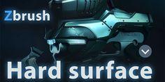 Hard-Surface-In-Zbrush