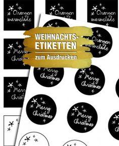 Weihnachtsetiketten als Printable zum kostenlosen Download und ein Rezept für köstliche Weihnachtsmarmelade: http://www.deliciousdesign.de/weihnachtsmarmelade-etiketten-zum-download/