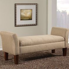 Found it at Wayfair - Upholstered Storage Bedroom Bench