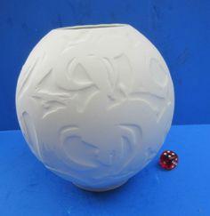 Hutschenreuther - Bisquitporzellan - Relief - 15 cm Vase