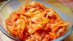 PotrawyRegionalne: OGÓRKI KANAPKOWE W SŁODKO OCTOWEJ ZALEWIE Z KURKUMĄ Thai Red Curry, Ethnic Recipes, Kitchen, Food, Cooking, Kitchens, Essen, Meals, Cuisine