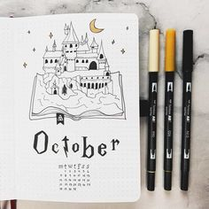 Looking for some October theme inspiration? Look no further! We have over newly updated and gorgeous october bullet journal layouts, spreads and covers for you to try and draw inspiration from! Bullet Journal Inspo, Bullet Journal First Page, Bullet Journal Spreads, December Bullet Journal, Bullet Journal Cover Ideas, Bullet Journal 2020, Bullet Journal Notebook, Bullet Journal Aesthetic, Bullet Journal Themes