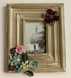Create your own adorned frames - fun and easy project for a girl's night with the niece!