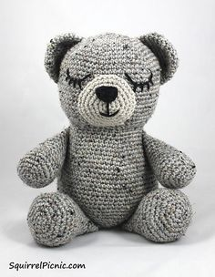 Resultado de imagen para crocheted bear