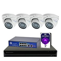 Morphxstar NVR POE Dome Camera System for Home Security Surveillance Wireless Home Security Systems, Smart Home Security, Safety And Security, Security Cameras For Home, Security Products, Security Alarm, Security Surveillance, Surveillance System, Home Monitoring System